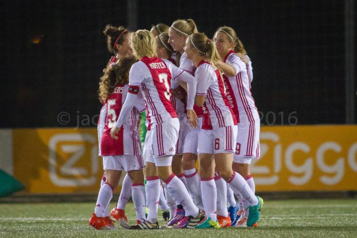Ajax Vrouwen bereiken bekerfinale