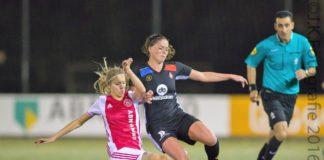 Ajax Vrouwen spelen gelijk tegen Telstar
