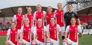 Ajax Vrouwen op randje van de titel