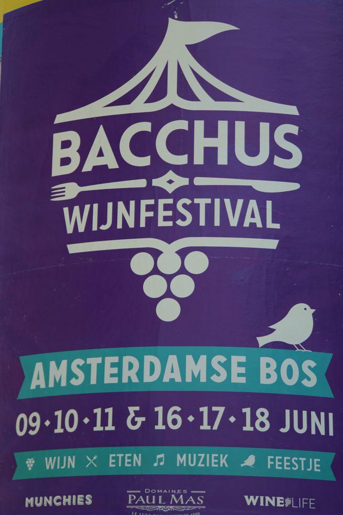 Wijn proeven in het Amsterdamse Bos