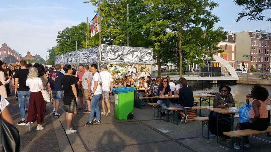 De Rollende Keukens : Sfeer impressie rollende keukens 2017 vrije tijd amsterdam