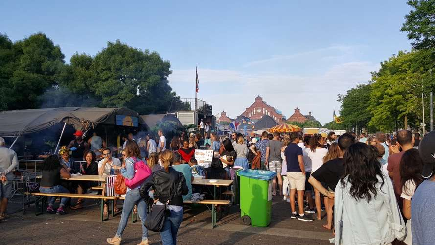 Rollende Keukens Amsterdam : Sfeer impressie rollende keukens vrije tijd amsterdam