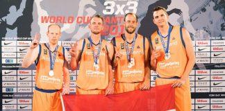 Oranje pakt Zilver bij Fiba 3x3 WK in Nantes