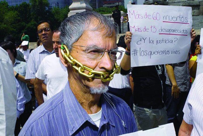 Aandacht voor journalisten Mexico