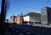 Feestelijke opening entree Stedelijk Museum