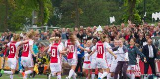 Begin competitie Ajax Vrouwen tegen Achilles '29