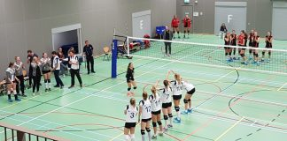 Valse start Volleybalsters US Volleybal