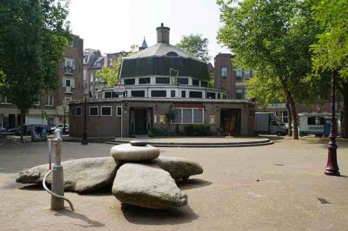Badhuistheater in Amsterdam