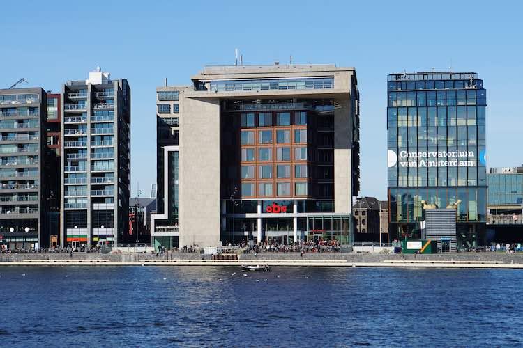Centrale OBA in Amsterdam
