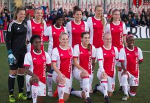Ajax vrouwen winnen eerste CL-duel, rood voor Van den Bighelaar