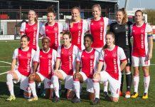 Ajax Vrouwen winnen thuis eenvoudig van PEC Zwolle