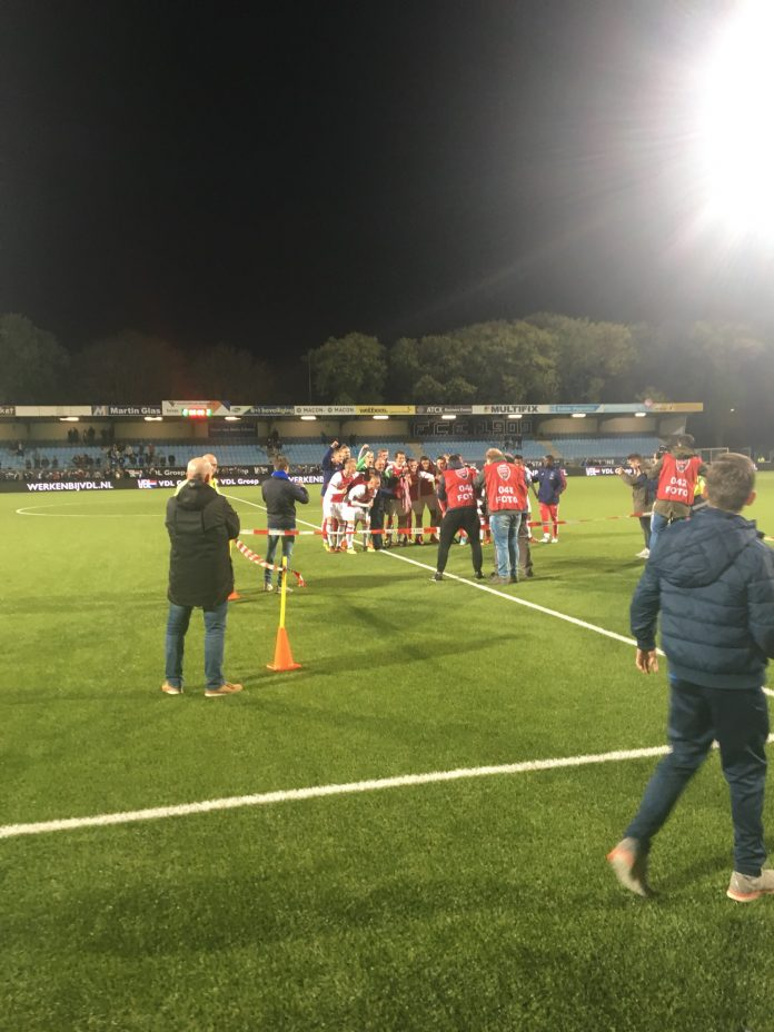 Jong Ajax pakt periodetitel in Eindhoven