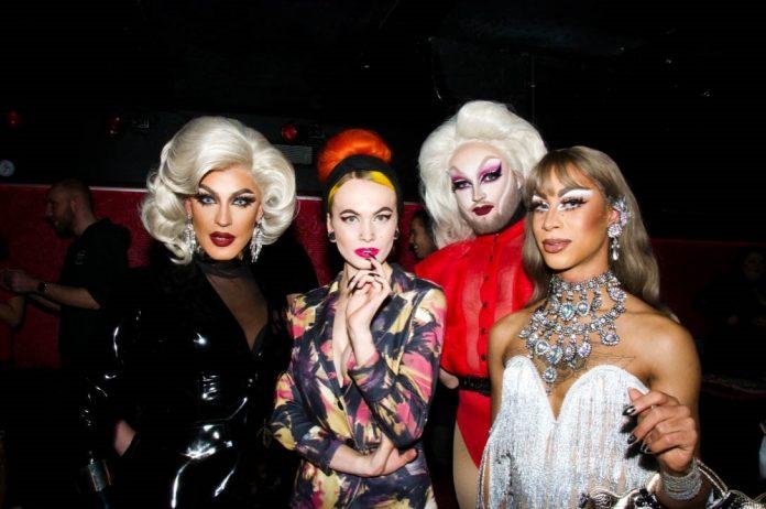 Sfeerbeelden Club NYX tijdens optreden drag queen Trixie Mattel