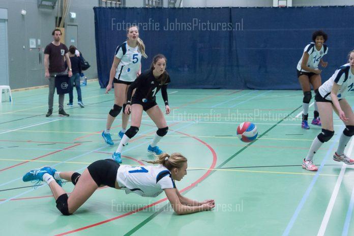 Pharmafilter US dames uitgeschakeld in bekertoernooi Amsterdams hoogst spelende volleybalteam bij de dames heeft niet kunnen stunten in de bekercompetitie.