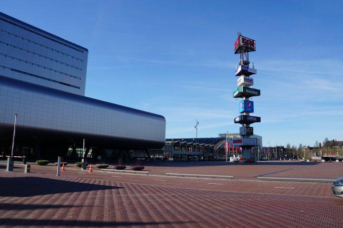 RAI toneel van Amsterdamse winterparade