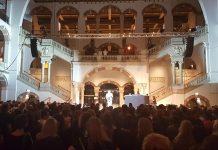 Het vernieuwde AmsterdamFM van start gegaan tijdens de Museumnacht