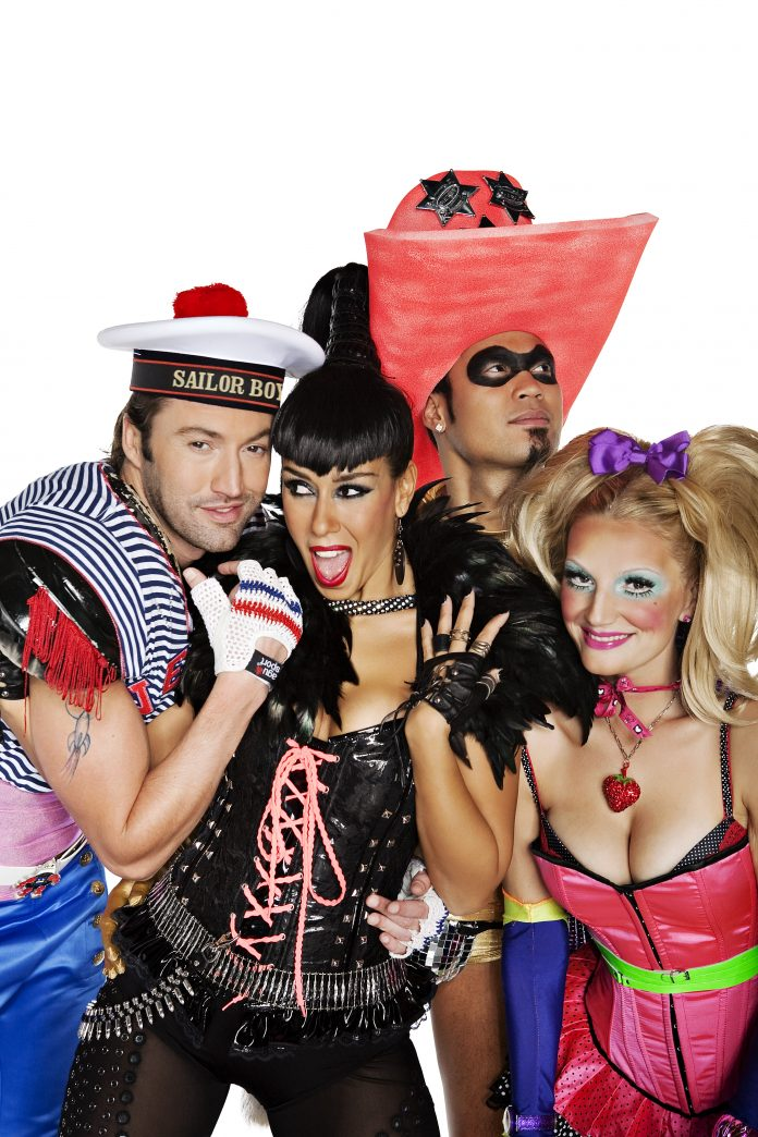 VENGABOYS LIVE VANUIT THE O2 ARENA IN LONDEN