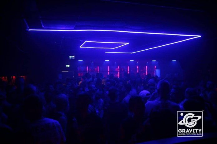 Underground in Keulen 'Gravity – Clubbing for the open minded'