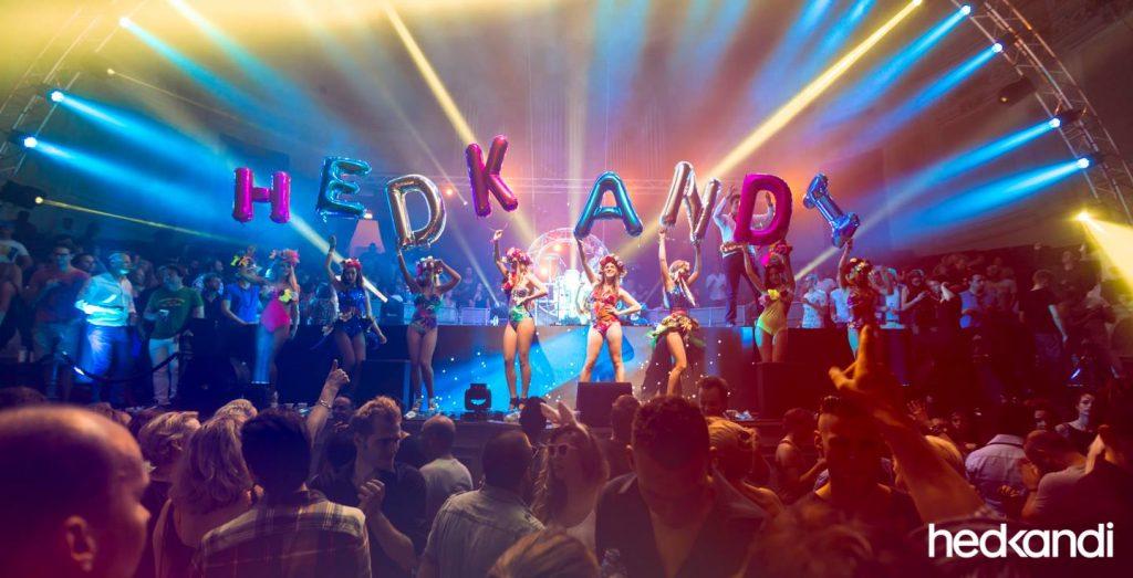 Hed Kandi viert Oud & Nieuw in Hotel Arena in Oost