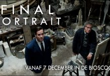 Film Final Portrait bij Cinecentre