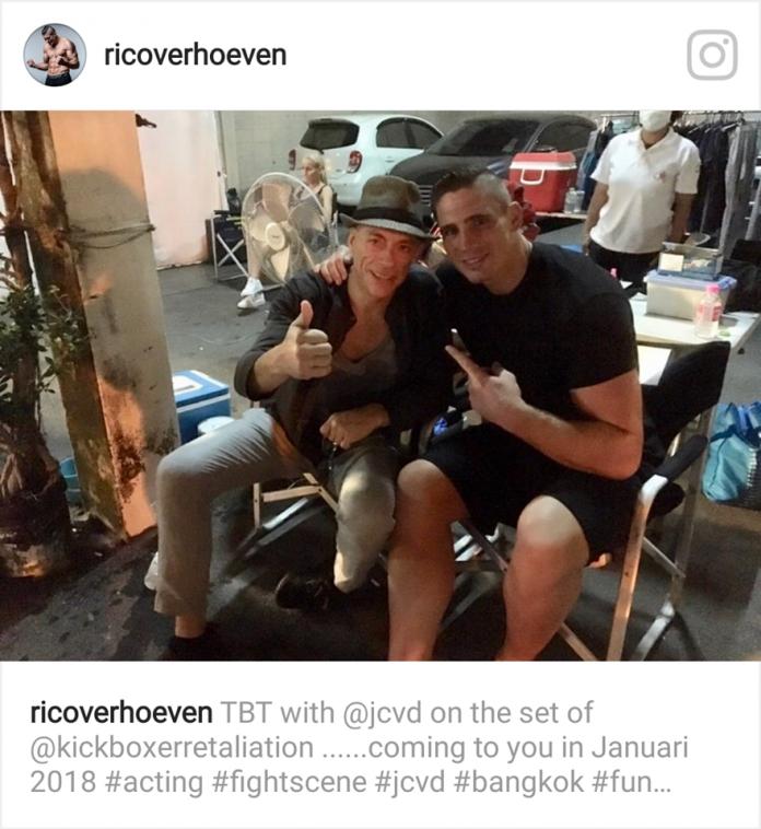 Verhoeven maakt filmdebuut naast Van Damme en Mike Tyson