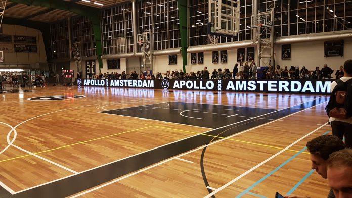 Apollo hervat competitie met verlies tegen Den Helder Apollo Amsterdam is de hervatting van de Dutch Basketball League gestart met verlies. In Den Helder verloor de ploeg uit Amsterdam-Zuid met 84-74 van rode lantaarndrager Den Helder Suns.