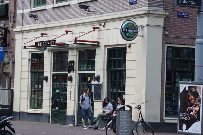 BBQ bij club Bitterzoet in Amsterdam