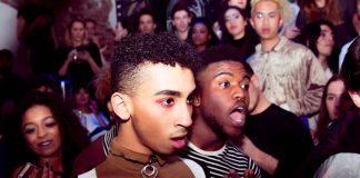 Dolle boel tijdens 3XNYX feest VOGUE Amsterdam in Club NYX