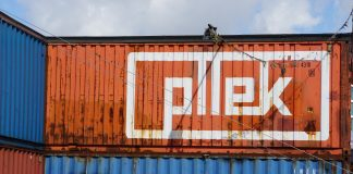 Award winnende label 'On the Corner' bij Pllek in Amsterdam-Noord