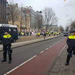 Foto's, video's en verhaal: Pegida demonstratie Amsterdam