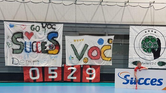 VOC Amsterdam sluit competitie af met zege op E & O