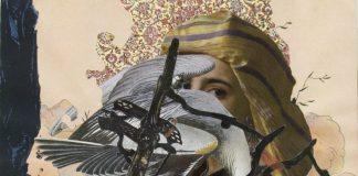 Kunstenaar Inas Al-soqi met kunstwerken in WOW