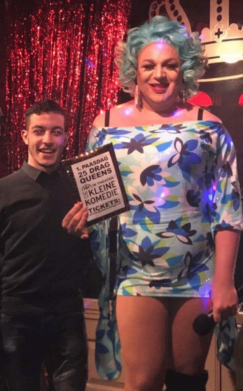 Mohamed winnaar kaarten voor 'A Drag Nigt to Remember'