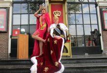 Amsterdam viert Koningsdag op leuke wijze