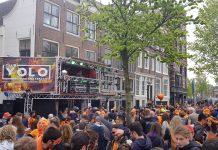 Geslaagde STREETPARTY bij Club YOLO