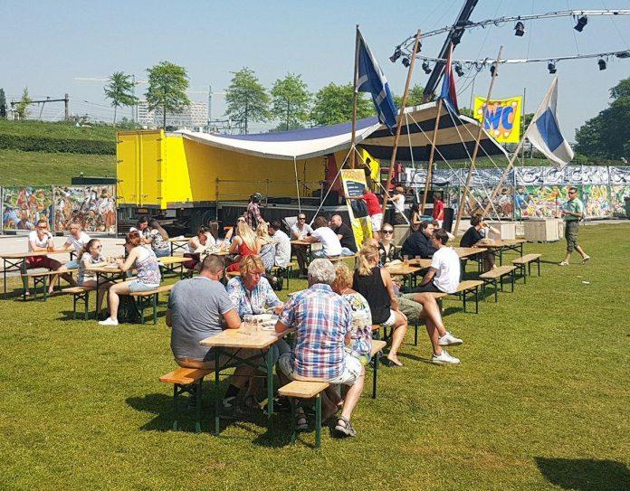 Dag 3 Rollende Keukens in Westerpark in volle gang