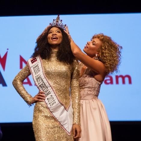 Janice Babel nieuwe Miss Amsterdam