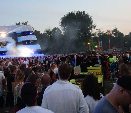 Heftig tafereel tijdens festival 909