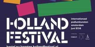 Holland Festival programma zaterdag 16 juni 2018