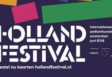 Holland Festival programma zondag 17 juni 2018