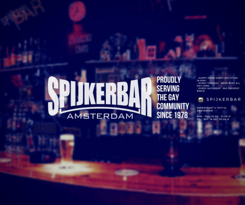 Spijker Bar: Proudly Serving the Gay Community since 1978