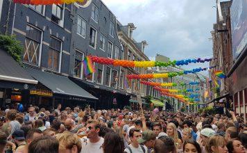 Locaties straatfeesten tijdens Pride Amsterdam 2018