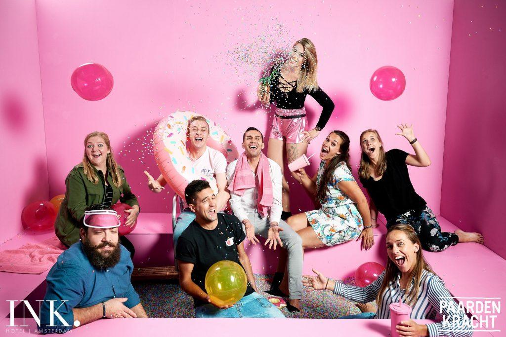 Voor het derde jaar op rij PINK Hotel tijdens Pride Amsterdam
