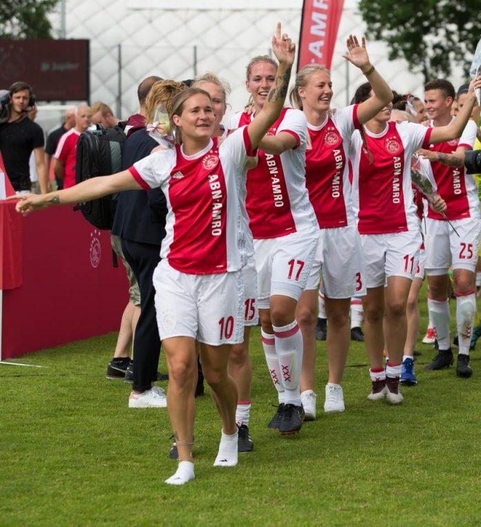 Tweede Europese zege op rij Ajax Vrouwen