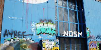 Eerste Drumcode Festival op NDSM-terrein