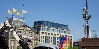 De Dam is bijna klaar voor Pride Amsterdam 2018 feesten