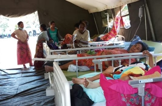 Leger des Heils in actie voor Lombok Het Leger des Heils is actief in de hulpverlening op het Indonesische eiland Lombok, dat de afgelopen weken door meerdere zware aardbevingen werd getroffen. De aandacht ligt op de hulpverlening aan het dorp Gangga