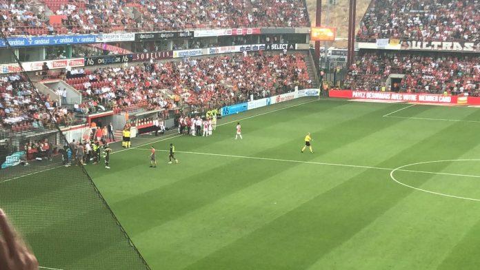 Ajax geeft goede uitgangspositie in Luik uit handen