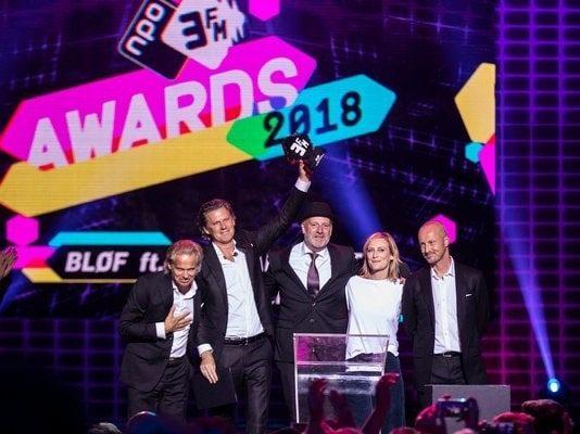 Kensington, Ronnie Flex en BLØF winnen bij 3FM Awards