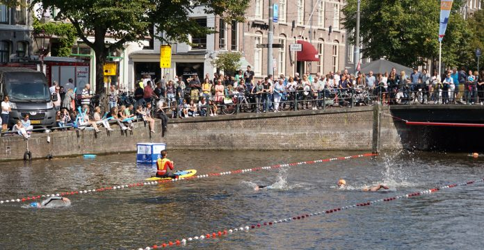 Toch nog bijzondere dag bij Amsterdam City Swim 2018
